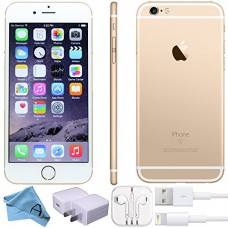Apple iPhone 6s Factory Unlocked GSM 4G LTE Smartphone (Certified Refurbished) (Gold, 64GB)