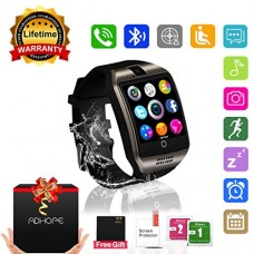 Smart Watch Bluetooth Smartwatch with Camera TouchScreen SIM Card Slot, Waterproof Phones Smart Wrist Watch Sports Fitness Tracker Compatible with ...