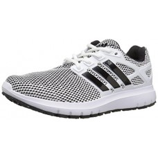 Adidas Men's Energy Cloud m Running Shoe, White/Black/Black, 12 Medium US