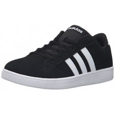 Adidas Neo Boys' Baseline K Sneaker, Black/White/Black, 13 M US Little Kid