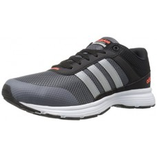 adidas Originals Men's Cloudfoam Vs City-m Running Shoe, Black/Matte Silver/Onix, 11 M US