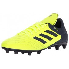 adidas Originals Men's Copa 17.3 Firm Ground Cleats Soccer Shoe, Solar Yellow/Legend Ink/Legend Ink, (10 M US)