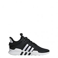 adidas Originals Men's EQT Support Adv Running Shoe, Black/White/Black, 12 M US