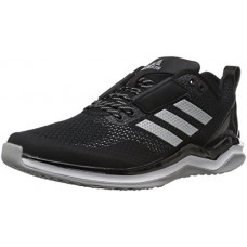 adidas Originals Men's Freak X Carbon Mid Cross Trainer, Black/Metallic Silver/White, (9 M US)