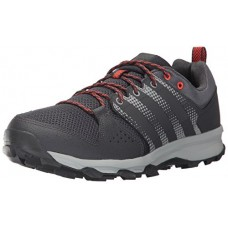 adidas Originals Men's Galaxy Trail m Running Shoe, Utility Black/Grey Five/Energy, 9.5 Medium US
