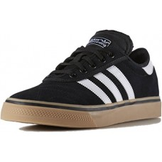 adidas Originals Men's Shoes | Adi-Ease Premiere Fashion Sneakers, Black/White/Gum, (12.5 M US)