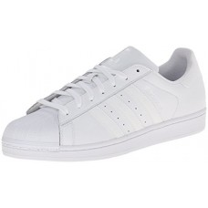 adidas Originals Men's Superstar Foundation Casual Sneaker, White/Running White/White, 8 D(M) US