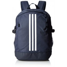 Adidas 3-Stripes Power Backpack (One Size, Trace Blue/Legend Ink/White)