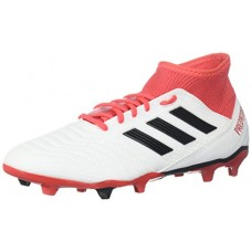 adidas Ace 18.3 FG, White/Core Black/Real Coral, 10 M US