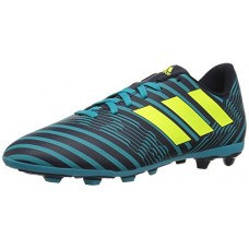 adidas Boys' Nemeziz 17.4 Fxg J Soccer Shoe, Legend Ink/Solar Yellow/Energy Blue, 4 Medium US Little Kid