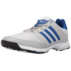adidas Men's Tech Response 4.0 Golf Shoe, White/Royal, 12 M US