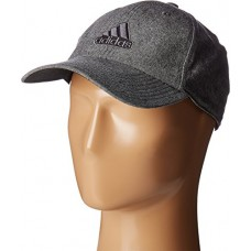 adidas Men's Ultimate Relaxed Fit Cap, Black/Onix/Grey Chambray, One Size