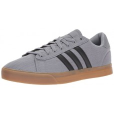 adidas Neo Men's Cloudfoam Super Daily Sneaker, Grey Three/Black/White, 10.5 Medium US