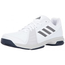 adidas Performance Men's Approach Tennis Shoes, Ftwr White, Night Met, Mystery Ink Fabric, (10 M US)