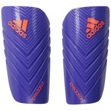 adidas Performance Predator Lesto Shin Guard,Night Flash Purple/Solar Red, Small