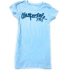 Aeropostale graphic tee blue small
