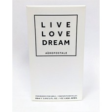 Aeropostale Live Love Dream Perfume 2.0 Ounce Spary For Women