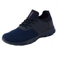 Alpine Swiss Leo Men Sneakers Flex Knit Tennis Shoes Casual Athletic Lightweight,Navy,9 D(M) US