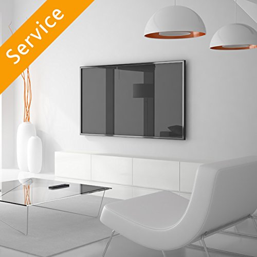 tv wall mounting 66 80 inches customer bracket cords concealed in cord cover. Black Bedroom Furniture Sets. Home Design Ideas