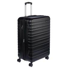AmazonBasics Hardside Luggage Spinner 28-Inch, Black