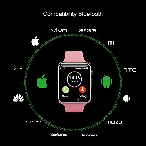 Smart Watch with Bluetooth Camera Music Player for IOS