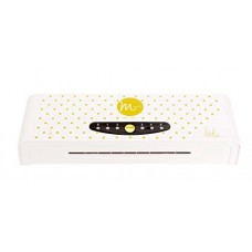 Heidi Swapp Minc Foil Application Machine Starter Kit by American Crafts | Includes machine, one transfer folder, one gold foil sheet, and three tags