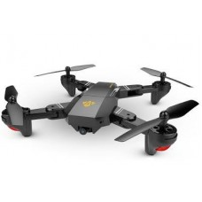 Visuo Foldable DRONE with HD Camera, Virtual Reality, FPV, GPS, Micro SD memory, Altitude Hold, Video