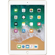 2018 Latest Model Apple iPad 9.7-Inch Retina Display, 128GB, WIFI, Bluetooth, Touch ID, Apple Pay, Siri, GPS Enabled, FaceTime HD Camera, Gold