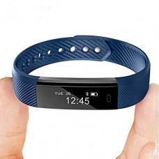 Smart bracelet Wristband Fitness bracelet Point Touch Top Best ID115 Bluetooth Call Remind Remote Self-Timer Smart Band Calorie Counter For Android...