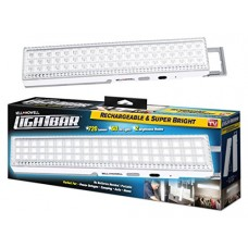"Bell + Howell LIGHT BAR by 60 LED 16.5"" Rechargeable, White"