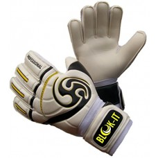 Goalkeeper Gloves By Blok-IT – Goalie Gloves to Help You Make the Toughest Saves – Secure, Comfortable Fit With Extra Padding to Reduce Chance of I...
