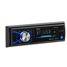 BOSS Audio 632UAB Single Din, Bluetooth, MP3/USB/SD AM/FM Car Stereo, Detachable Front Panel, Wireless Remote, (No CD/DVD)