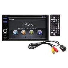 BOSS Audio BVB9364RC Double Din, Touchscreen, Bluetooth, DVD/CD/MP3/USB/SD AM/FM Car Stereo, 6.2 Inch Digital LCD Monitor, Wireless Remote, Rear Fl...
