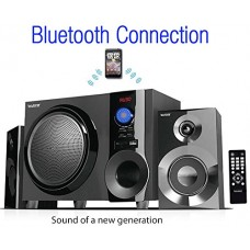Boytone BT-210FB Wireless Bluetooth Stereo Audio Speaker with Powerful Sound, Bass System, Excellent Clear Sound & FM Radio, Remote Control, Aux-In...