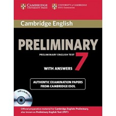 Cambridge English Preliminary 7 Student's Book Pack (Student's Book with Answers and Audio CDs (2)) (PET Practice Tests)