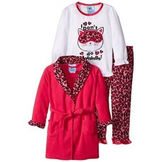 Bunz Kidz Little Girls' I Don't Do Mornings Toddler, Fuchsia, 2T