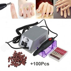 Electric Nail Drill Machine Nail File Drill Set Kit for Acrylic Nails, Gel Nail, Nail Art Polisher Sets Glazing Nail Drill Fast Manicure Pedicure b...