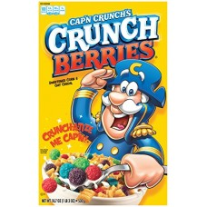 Cap'N Crunch Crunchberry Cereal, 18.7 oz