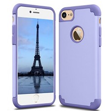 CaseHQ iPhone 7 Case, iPhone 8 Case,slim Dual Layer Silicone Rubber PC Protective Case Fit for iPhone 7 (4.7 screen),iPhone 8 (4.7 screen) Hybrid H...