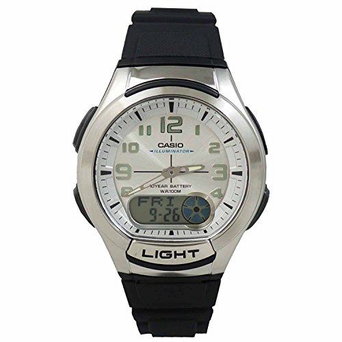 Casio General Men's Watches Standard Active Dial AQ-180W ...