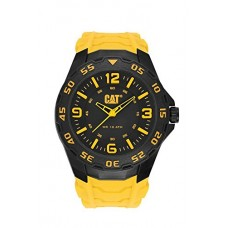CAT WATCHES Men's LB11127137 Motion Analog Display Quartz Yellow Watch