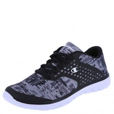 Champion Boys' Black Geo Print Boys' Geo Print Gusto Cross Trainer 2 Regular