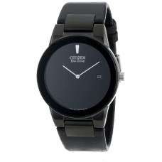 Citizen Men's AU1065-07E  Eco-Drive Axiom Watch with Black Leather Band