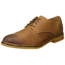 CLARKS Clarkdale Moon - Dark Tan Leather (Brown) Mens Shoes 8 US
