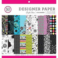 "ColorBok 68231B Designer Paper mad for plaid, 12"" X 12"""