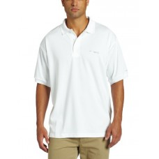Columbia Men's Perfect Cast Polo Fishing Shirt (White, XX-Large)