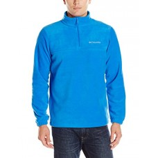 Columbia Men's Steens Mountain Half Zip, Super Blue, XX-Large