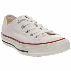 Converse Unisex Chuck Taylor All Star Low Top Optical White Sneakers - 11.5 B(M US Women / 9.5 D(M) US Men