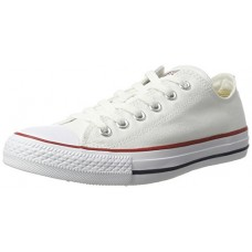 Converse Unisex Chuck Taylor All Star Low Top Optical White Sneakers - 6 D(M)