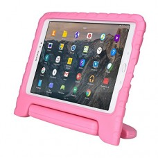 Samsung Galaxy Tab A 9.7 kids case, [2-in-1 Bulky Handle: Carry & Stand] COOPER DYNAMO Rugged Heavy Duty Children's Cover + Handle, Stand & Screen ...